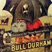 Bull Durham Smoking Tobacco Poster