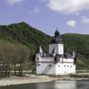 Burg Pfalzgrafenstein Squared Poster