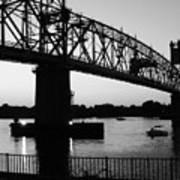 Burlington Bristol Bridge  Poster by D R TeesT
