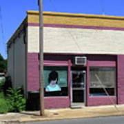 Burlington North Carolina - Small Town Business Poster