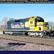 Burlington Northern Santa Fe Bnsf Poster
