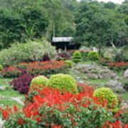 Burma Village Garden Poster