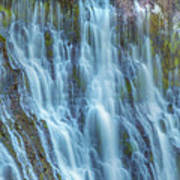 Burney Falls Detail Poster