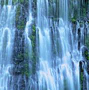 Burney Falls Mist Mcarthur Burney Sp California  Poster