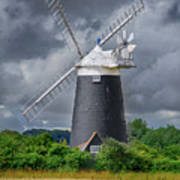Burnham Overy Mill Poster