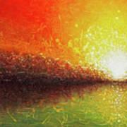 Bursting Sun Poster