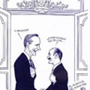 Bush And Salinas Poster