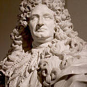 Bust Of King Louis Poster