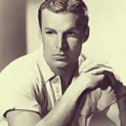 Buster Crabbe, Vintage Actor Poster