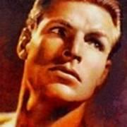 Buster Crabbe, Vintage Hollywood Legend Poster