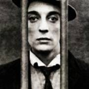 Buster Keaton, Vintage Actor Poster