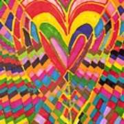 Busy Heart Poster