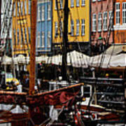 Busy Nyhavn Poster