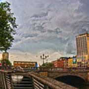 Busy O' Connell Bridge Poster