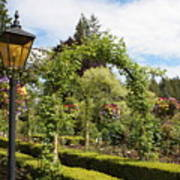 Butchart Gardens Arches Poster