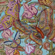 Butterflies Everywhere Poster