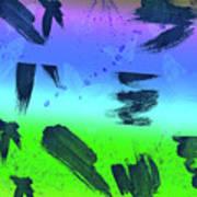 butterflies in Colors Poster