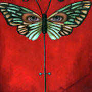 Butterfly Eyes Poster