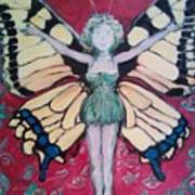 Butterfly Lady Poster