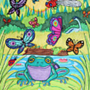 Butterfly Lake Poster