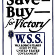 Buy For Victory Poster