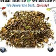 Buy Herbal Incense In Great Number At Wholesale Prices Poster