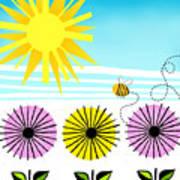Buzzy As A Bee Poster