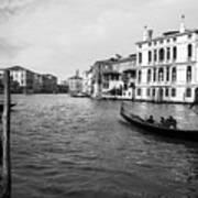 Bw Venice Poster