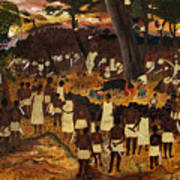 Bwa Kayiman Haiti 1791 Poster by Nicole Jean-Louis
