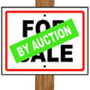 By Auction Poster