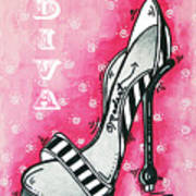 By Pink Design By Madart Poster