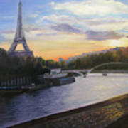 By The Seine Poster