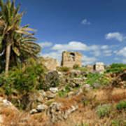 Byblos Castle, Lebanon Poster