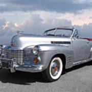 Bygone Era - 1941 Cadillac Convertible Poster