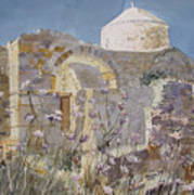 Byzantine Monastery Cyprus Poster by Martin Giesen