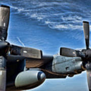 C-130 Hdr Poster