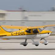 C-fgql Aircraft Poster