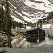 Cabin At Chinns Lake Poster