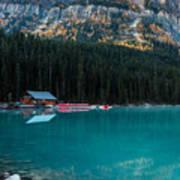 Cabin At The Lake, Poster