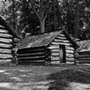 Cabins Of Valley Forge Poster
