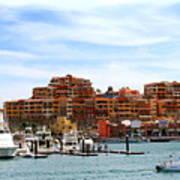 Cabo San Lucas Marina Poster