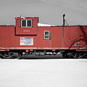 Caboose Poster