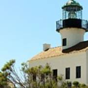 Cabrillo Lighthouse Poster
