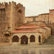 Caceres Spain Poster