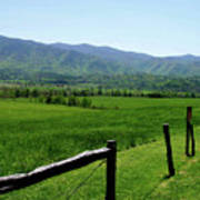 Cades Cove View Poster