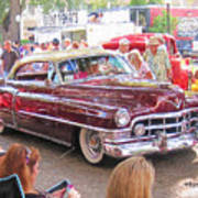 Cadillac Coupe Deville Poster