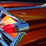 Cadillac Tail Fin View Poster