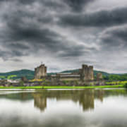 Caerphilly Castle North View 1 Poster