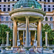 Caesar Columns Poster