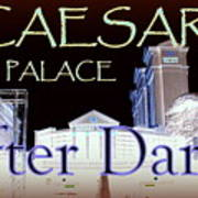 Caesars Palace After Dark Poster